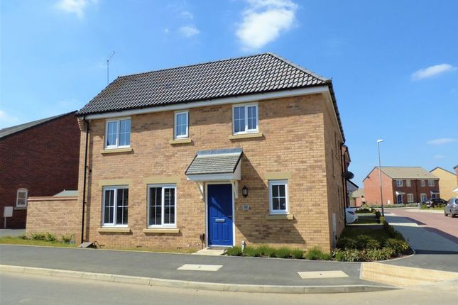 Thumbnail Detached house for sale in Damselfly Road, Pineham, Northampton