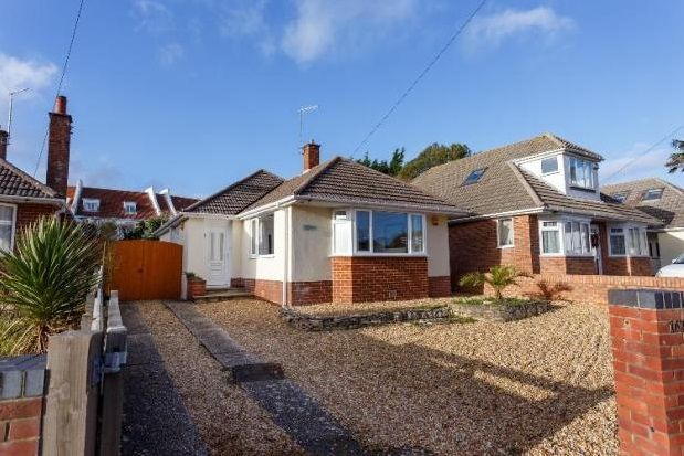 Thumbnail Detached bungalow to rent in Lake Road, Hamworthy, Poole
