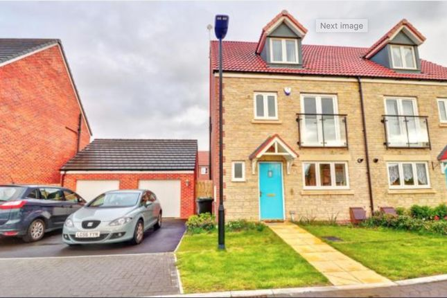 Thumbnail Semi-detached house to rent in Wincombe Road, Coate, Swindon