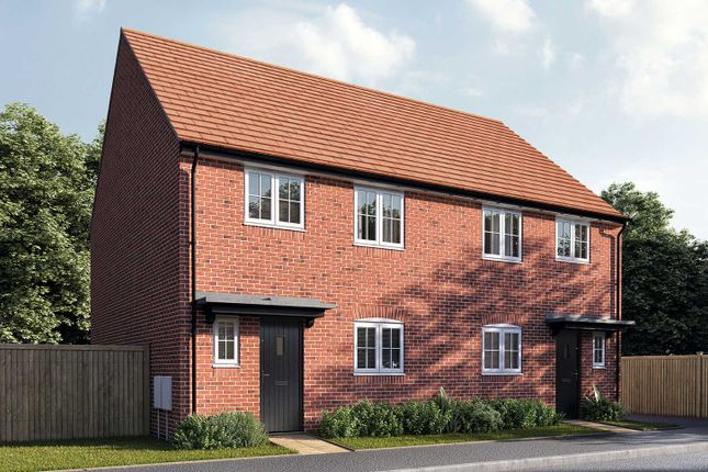"""3 bed terraced house for sale in """"The Eveleigh"""" at Perch Mews, Biddenham, Bedford MK40"""