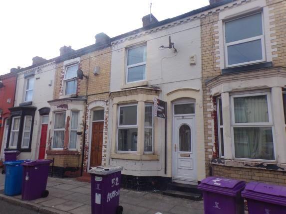 Front of Hinton Street, Kensington, Liverpool, Merseyside L6
