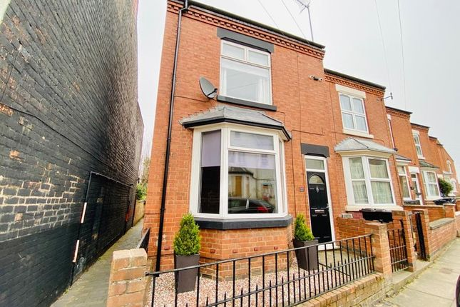 3 bed end terrace house for sale in Lansdowne Road, Aylestone, Leicester LE2