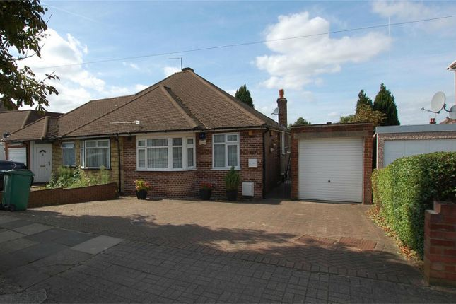 Thumbnail Semi-detached bungalow for sale in Chaplin Road, Wembley