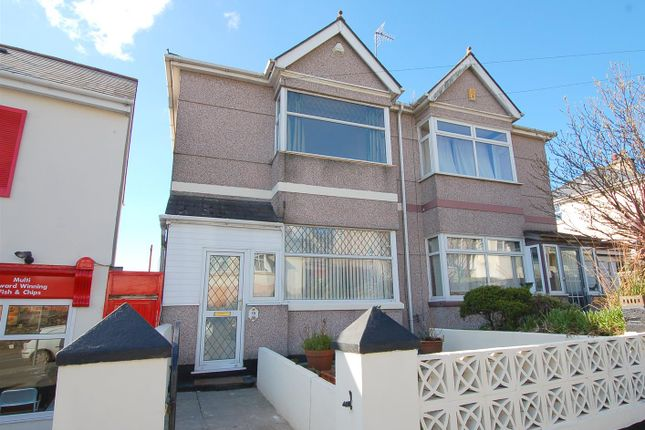 Thumbnail Semi-detached house for sale in North Prospect Road, Plymouth