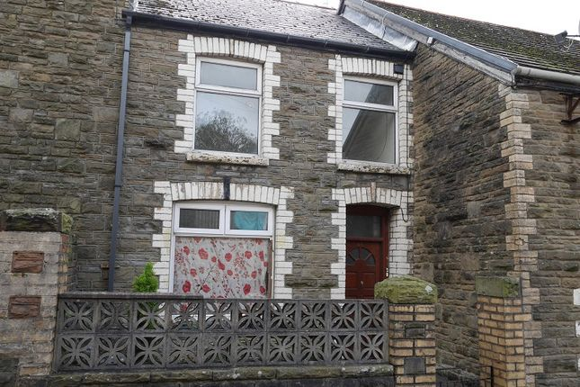 Thumbnail Terraced house for sale in High Street, Abertillery, Blaenau Gwent.
