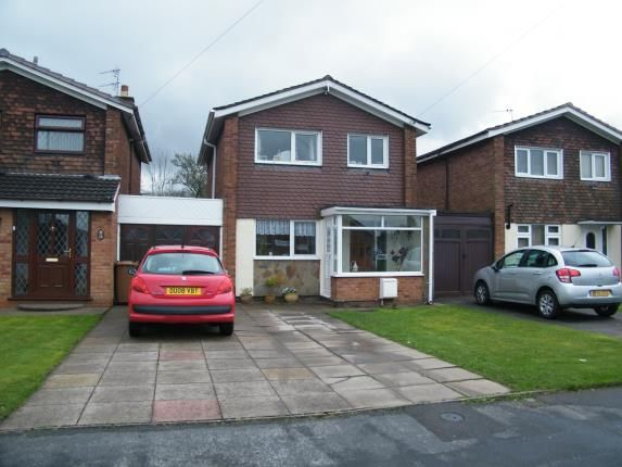 Thumbnail Link-detached house for sale in Perry Hall Drive, Willenhall, West Midlands