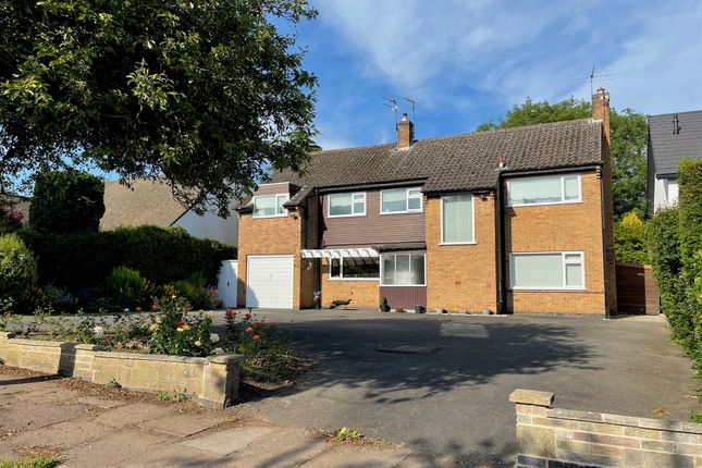 Thumbnail Detached house for sale in Sackville Gardens, Leicester