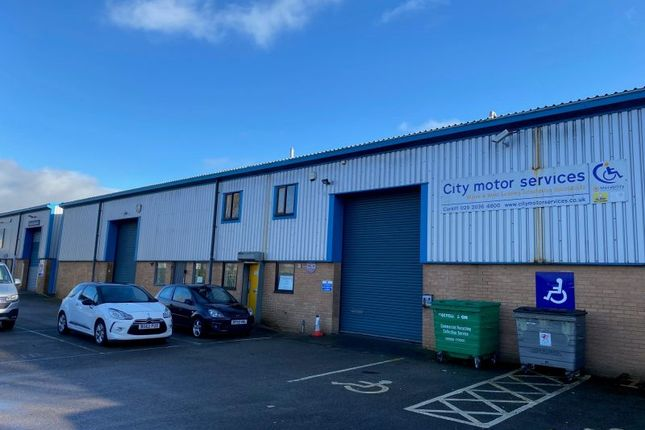 Thumbnail Industrial to let in Unit East Point Industrial Estate, Wentloog, Cardiff