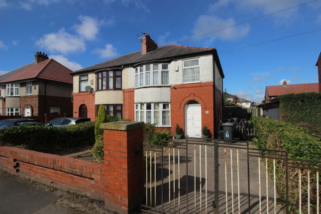 Thumbnail Semi-detached house for sale in Longridge Road, Ribbleton, Preston