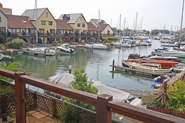 Thumbnail Town house to rent in Mullion Close, Port Solent, Portsmouth