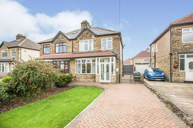 Thumbnail Semi-detached house for sale in Wibsey Park Avenue, Bradford, West Yorkshire