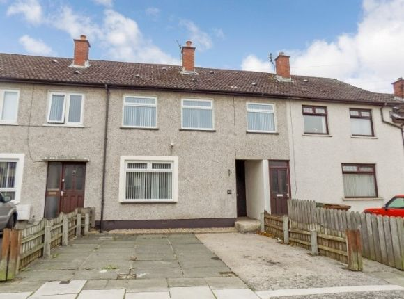 Thumbnail Terraced house to rent in Tirowen Drive, Lisburn