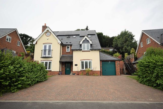 Thumbnail Detached house for sale in Trewern, Breidden Place, Welshpool, Powys