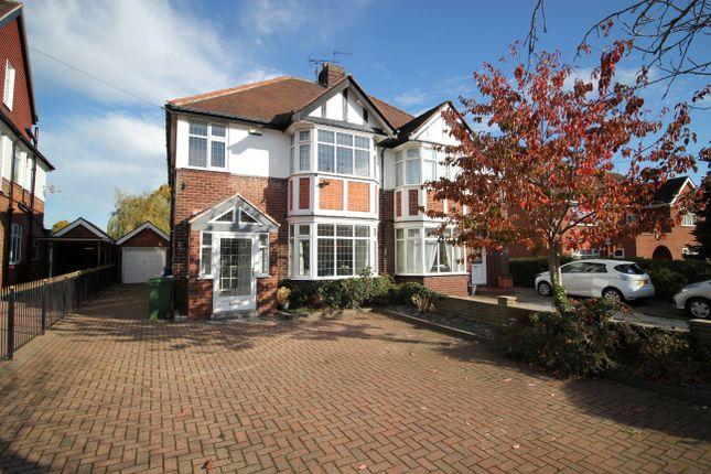 Thumbnail Semi-detached house for sale in Beverley Road, Kirk Ella