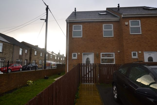 Thumbnail Town house to rent in Campbell Street, Tow Law, Bishop Auckland