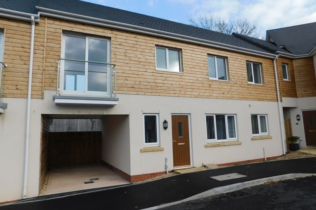 Thumbnail Terraced house to rent in Mitchell Gardens, Axminster