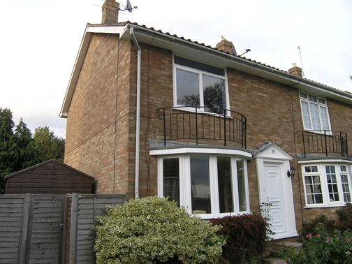 Thumbnail End terrace house to rent in Larnach Close, Uckfield