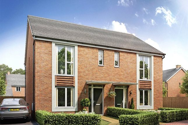 Thumbnail Semi-detached house for sale in Pear Tree Fields, Taylors Lane, South Of Broomhall Way, Worcester