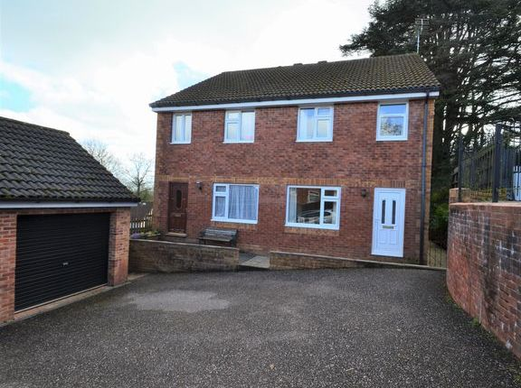 Thumbnail Semi-detached house for sale in Cromwell Park, Tiverton