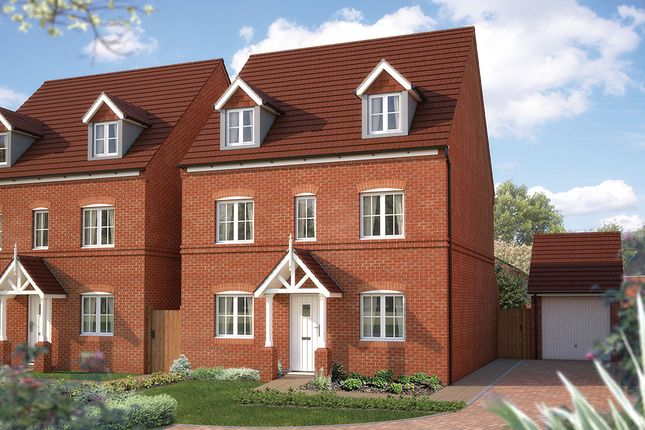 "Thumbnail Detached house for sale in ""The Chelford"" at Tixall Road, Tixall, Stafford"