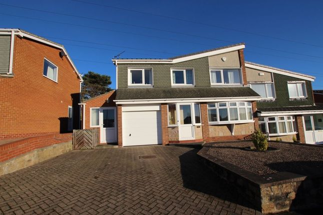 Thumbnail Semi-detached house for sale in Ponthaugh, Rowlands Gill