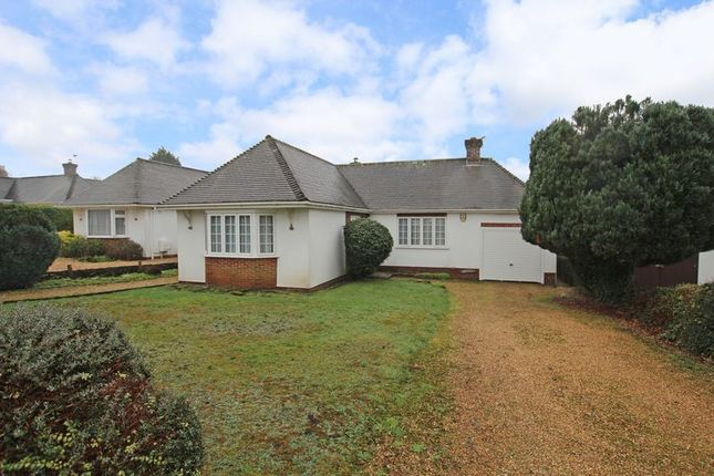 Thumbnail Detached bungalow for sale in Rownhams Way, Rownhams, Southampton