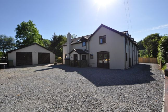 Thumbnail Detached house for sale in The Coach House, Llwynwalter Road, Alltwalis, Carmarthen