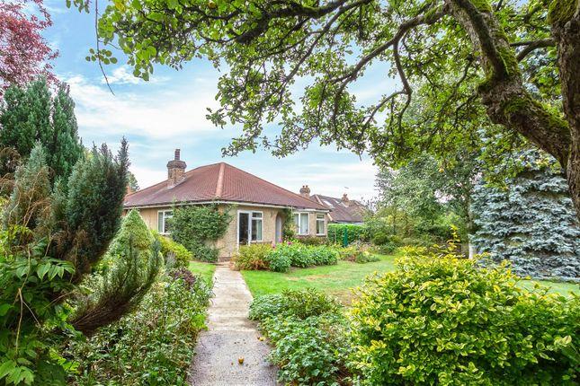 Thumbnail Detached bungalow for sale in Buckham Thorns Road, Westerham