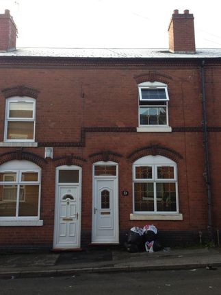 Thumbnail Terraced house to rent in Cannon Street, Walsall, West Midlands