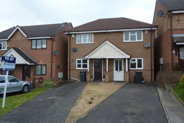 Thumbnail Semi-detached house to rent in Tudor House Close, Newhall, Swadlincote