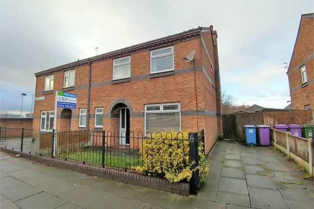 Thumbnail Semi-detached house for sale in Christian Street, Liverpool, Merseyside, UK
