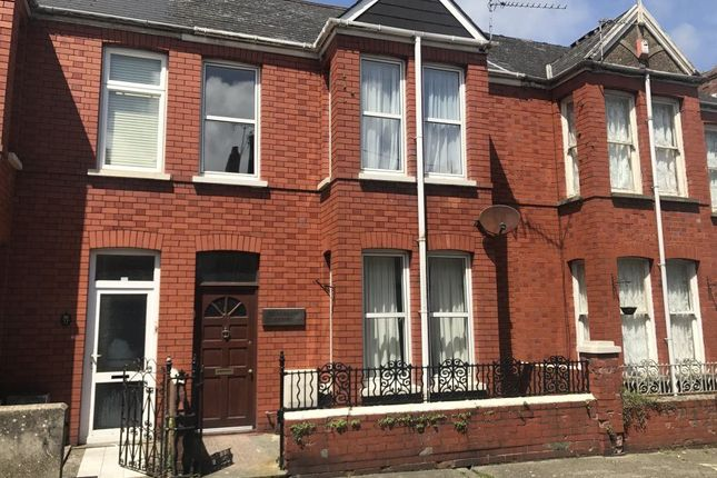 Thumbnail Terraced house to rent in Dewsland Street, Milford Haven, Pembrokeshire