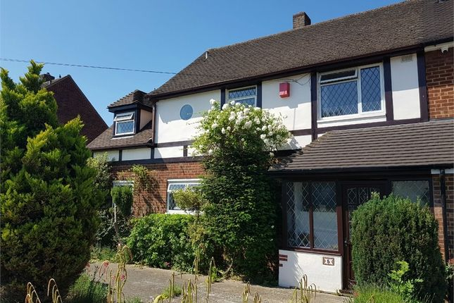 Thumbnail Semi-detached house for sale in Thaxted Way, Waltham Abbey, Essex