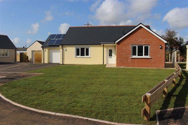 Detached bungalow for sale in Bowett Close, Hundleton, Pembroke