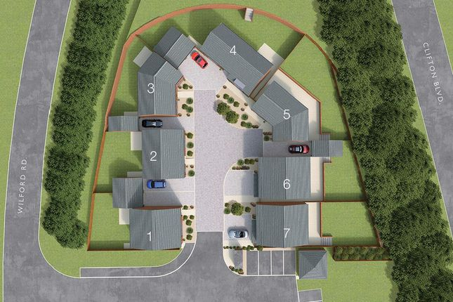 Site Plan of Ruddington Lane, Wilford, Nottingham NG11