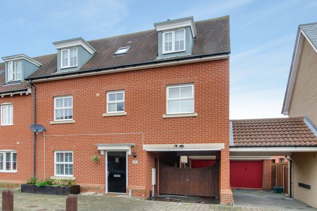 Thumbnail Town house for sale in Helen Ewing Place, Colchester