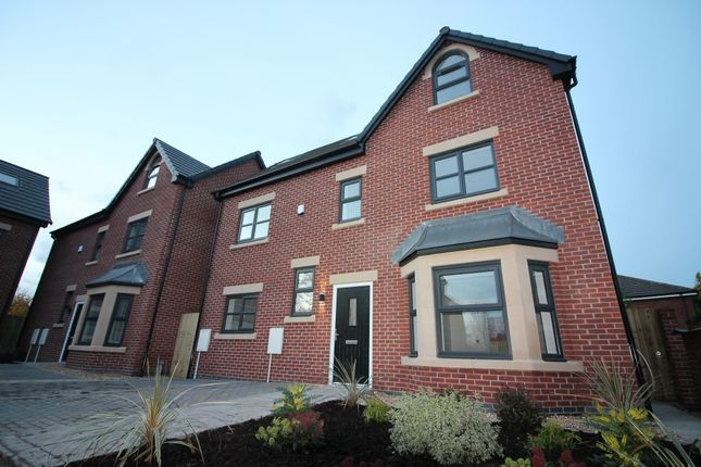 Thumbnail Detached house for sale in Roby Close, Sale, Cheshire
