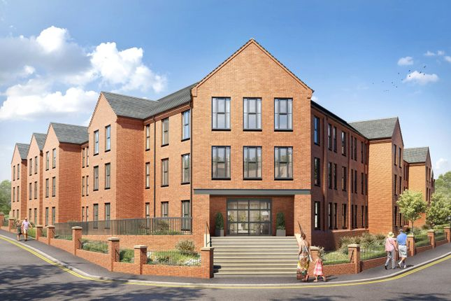 Thumbnail Flat for sale in Clive Road, Redditch, Worcestershire