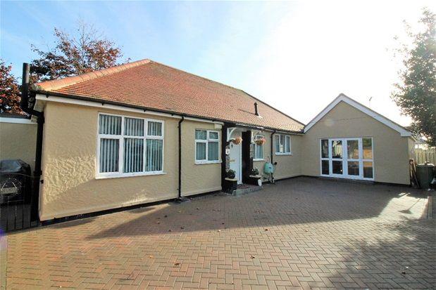 Thumbnail Detached bungalow for sale in Vista Road, Clacton-On-Sea