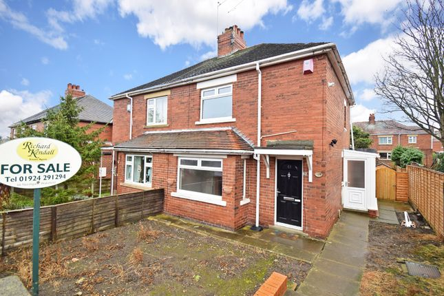 Thumbnail Semi-detached house for sale in Bevin Crescent, Outwood, Wakefield