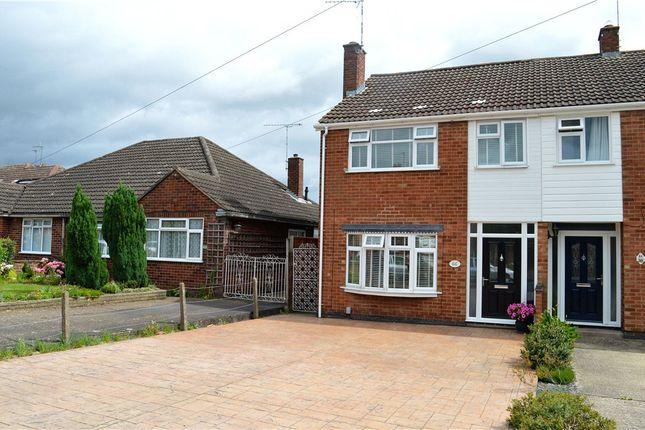 Thumbnail Semi-detached house for sale in Home Farm Crescent, Whitnash, Leamington Spa