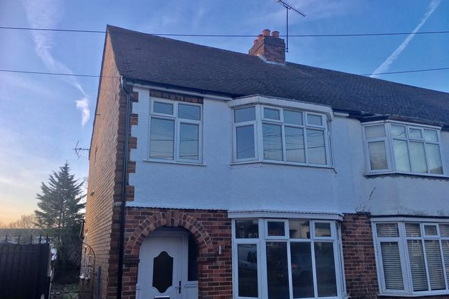Thumbnail End terrace house to rent in Garden Road, Dunstable
