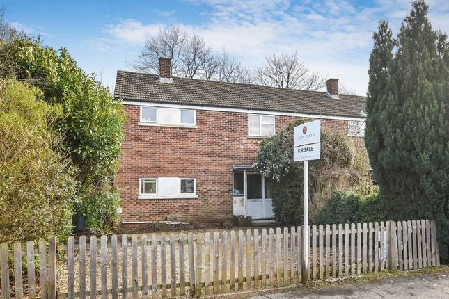 Thumbnail Terraced house for sale in Woodcote Road, Caversfield, Bicester