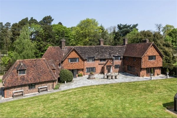 Thumbnail Detached house for sale in Charlwood, Horley, Surrey