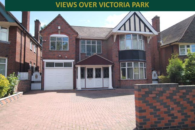 Thumbnail Detached house for sale in Victoria Park Road, Clarendon Park, Leicester