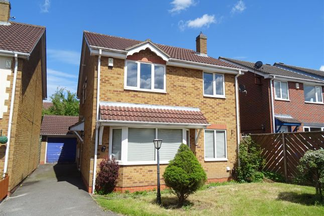 Thumbnail Detached house for sale in Exmoor Close, Ellistown, Leicestershire