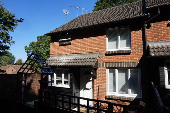 Thumbnail End terrace house for sale in Overthorpe Close, Knaphill