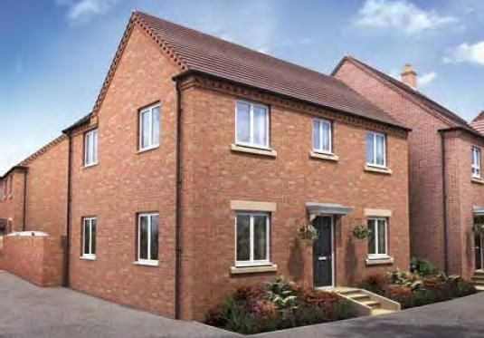 """Thumbnail Detached house for sale in """"The Chatsworth"""" at Darrall Road, Lawley Village, Telford"""