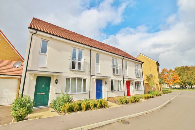 Thumbnail Terraced house to rent in Farmers Row, Fulbourn, Cambridge