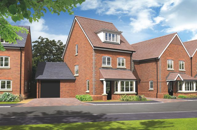 "Thumbnail Property for sale in ""The Darwin"" at Basingstoke Road, Spencers Wood, Reading"